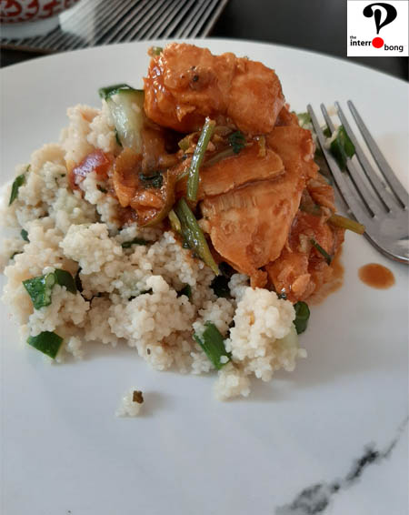 Fish Tagine with Homemade Couscous for a wholesome meal